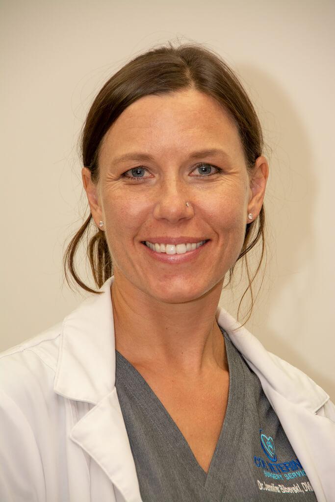 Dr. Jennifer Bibevski, DVM, DACVS